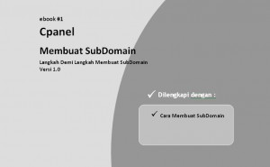 Tutorial Cpanel Membuat SubDomain